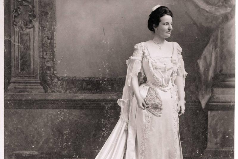 Edith Roosevelt Reused Her Dresses For Material