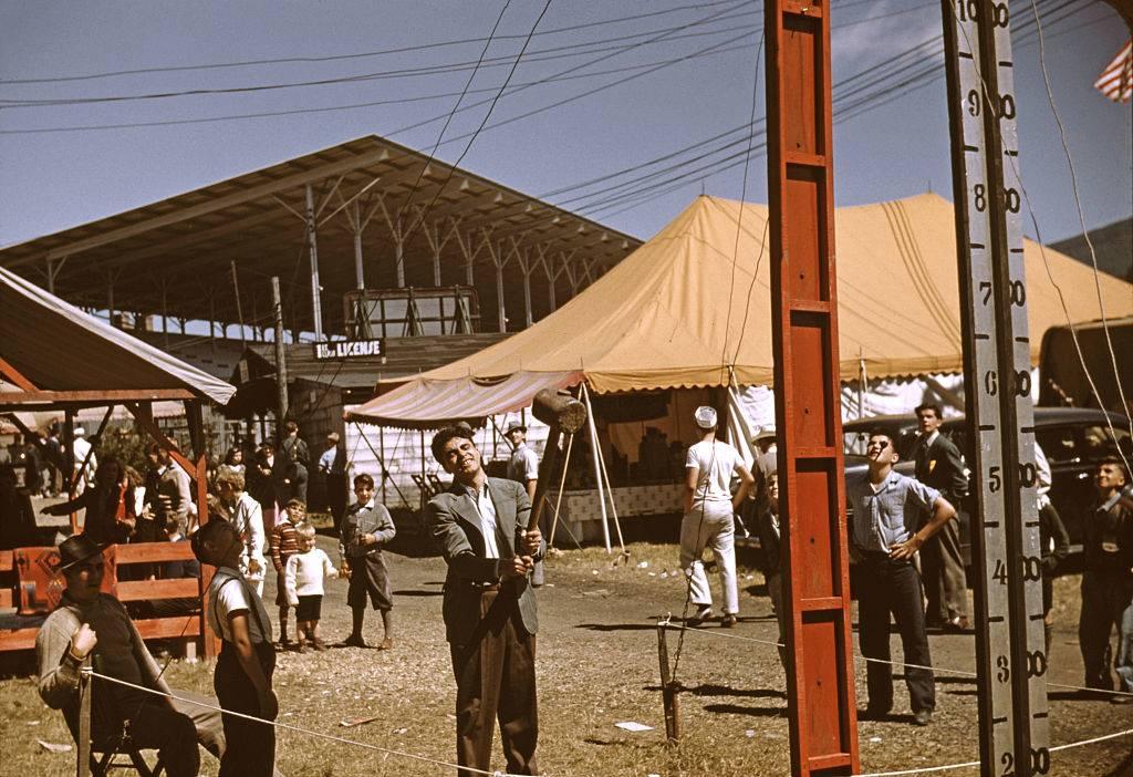 Man at a fair