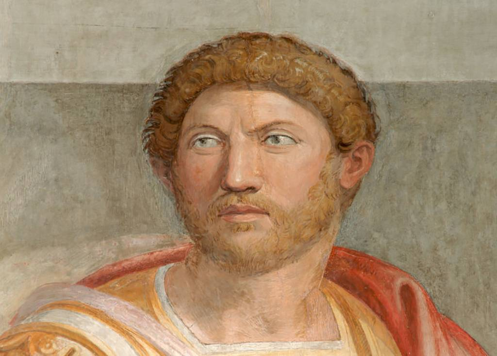 Painting of Hadrian