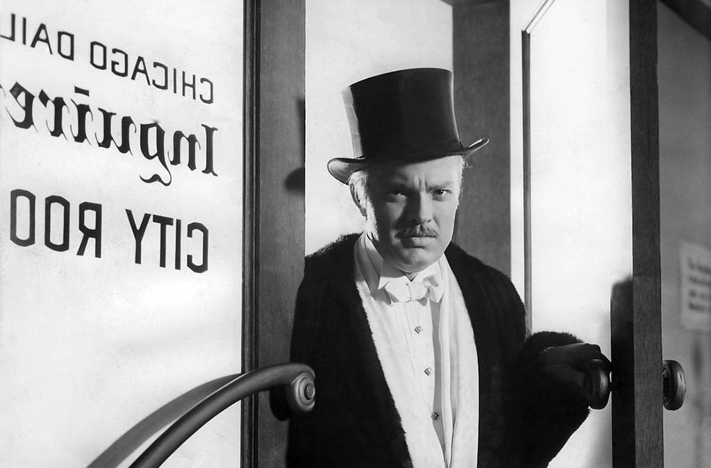 Welles in Citizen Kane