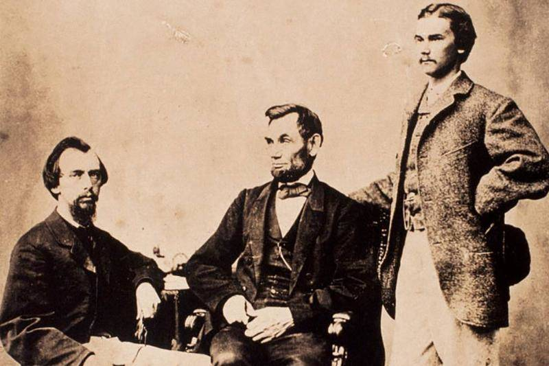 Lincoln And His Secretaries