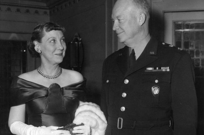 Mamie Eisenhower Ditching Her Signature Color
