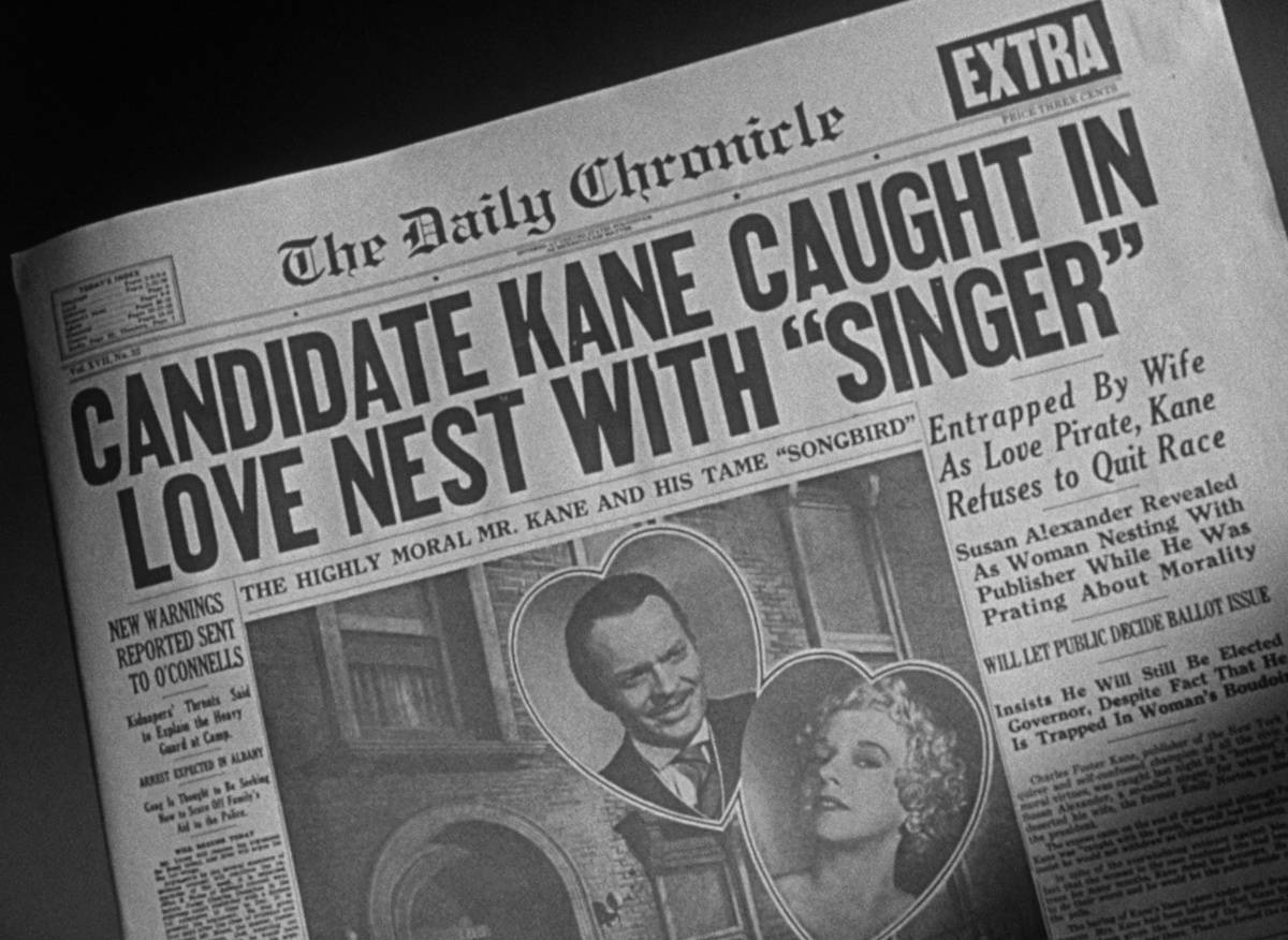 Picture of newsreel