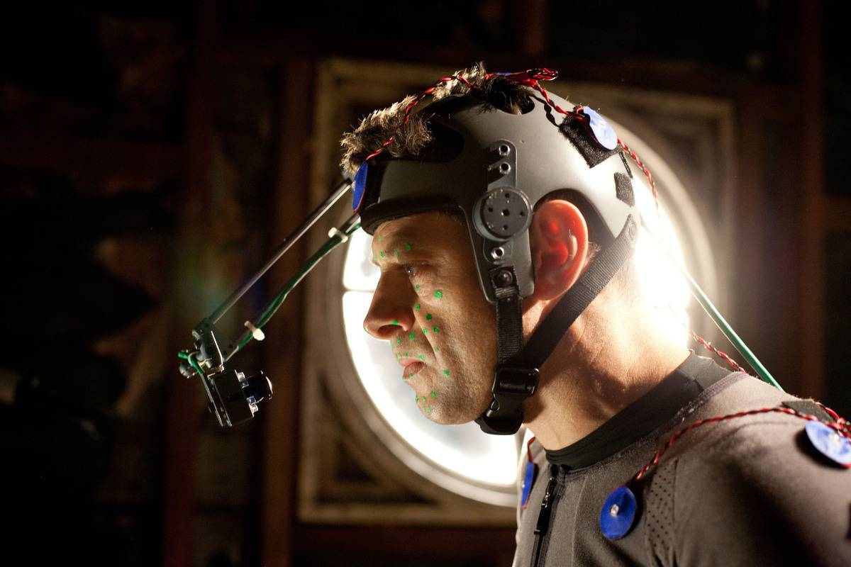 Andy Serkis in equipment