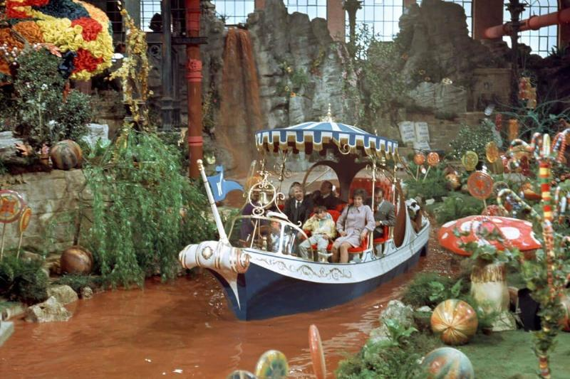 The Chocolate River Was Really Chocolate