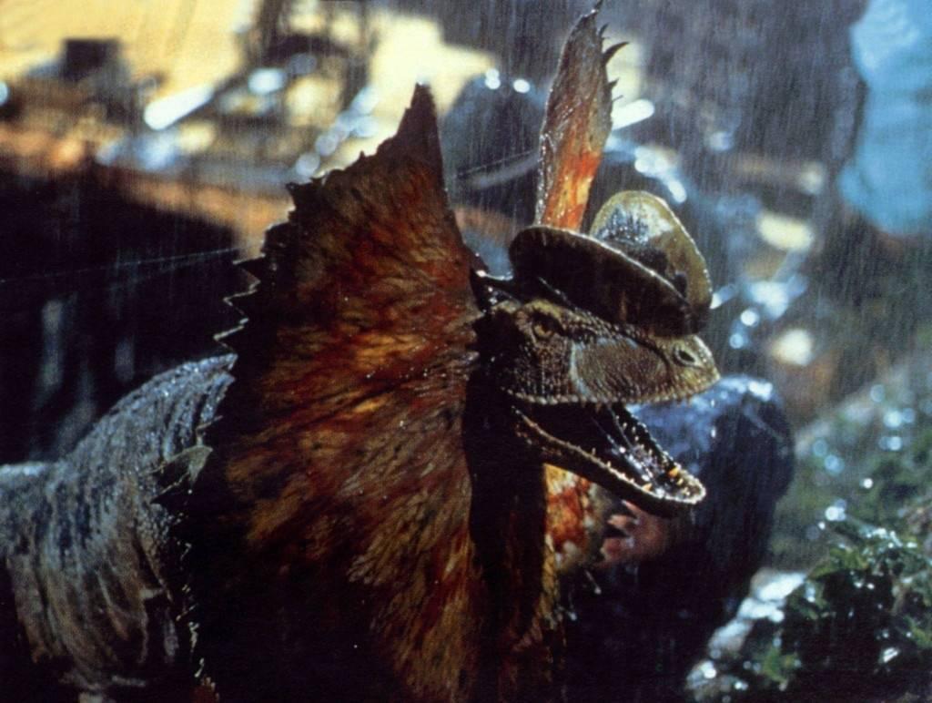The Venom-Spitting Dilophosaurus Is Fictionalized