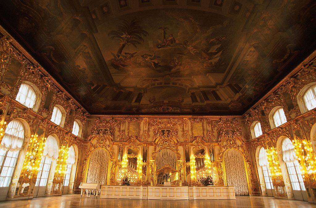 Reconstruction Of The Amber Room Of The Zarkosje Selo Palace