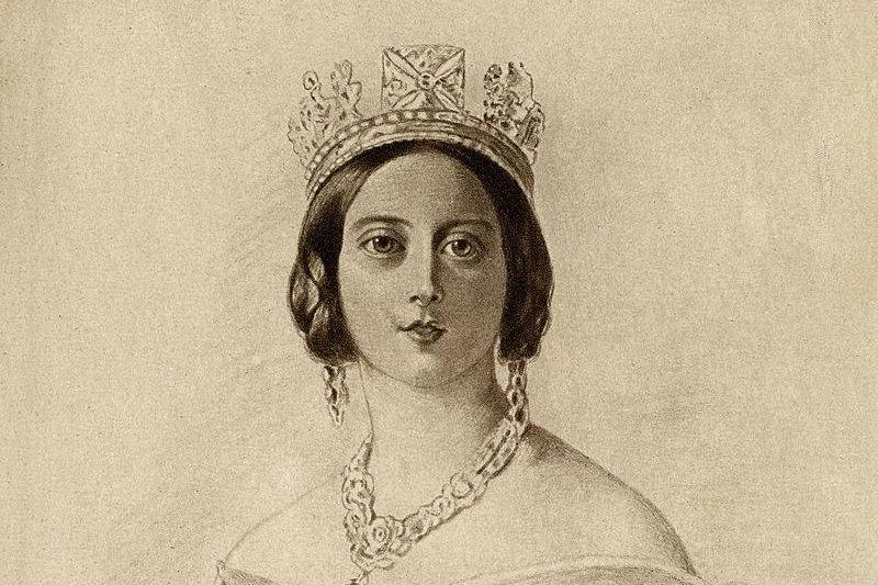 Drawing of the queen