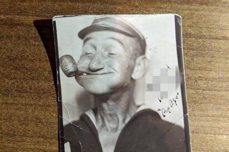 A Popeye Impersonator