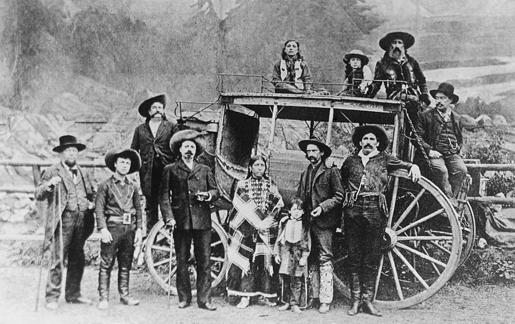 Picture of the Wild West show