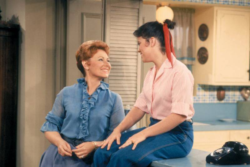 Marion Ross Then