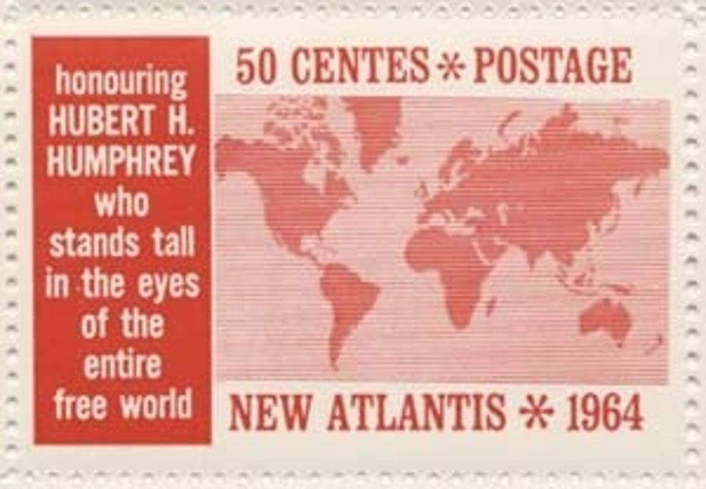Postage for New Atlantis