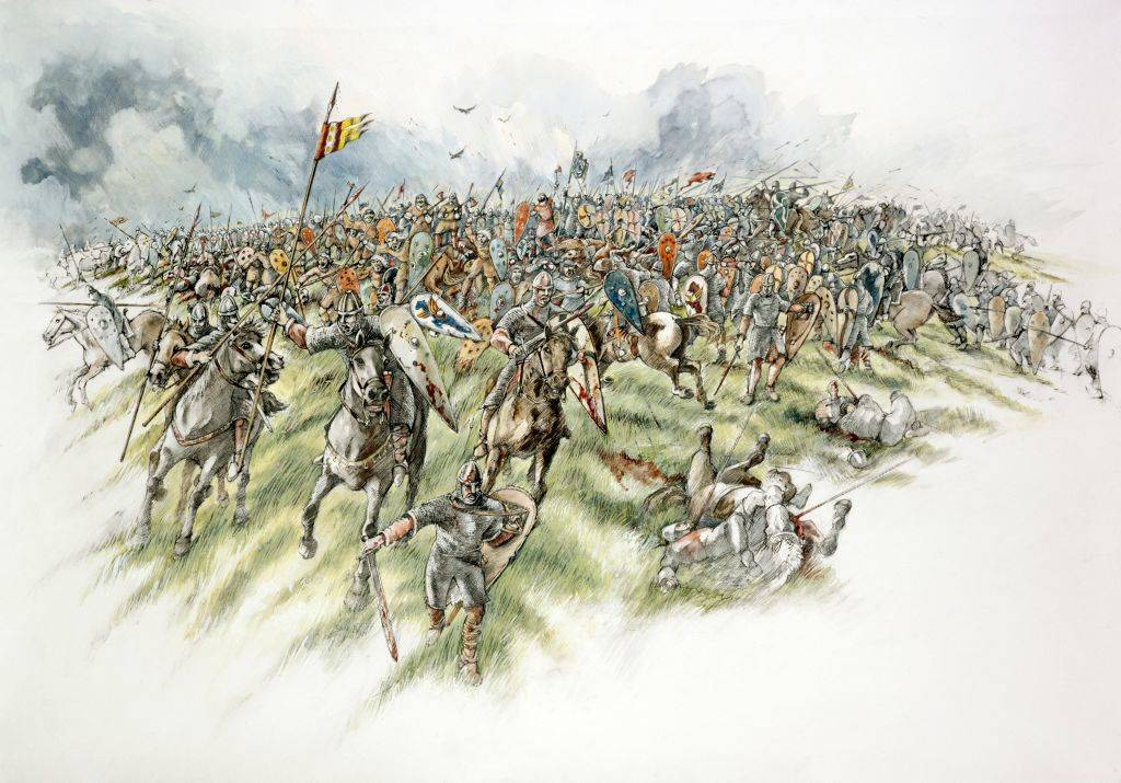 Picture of the Battle of Hastings