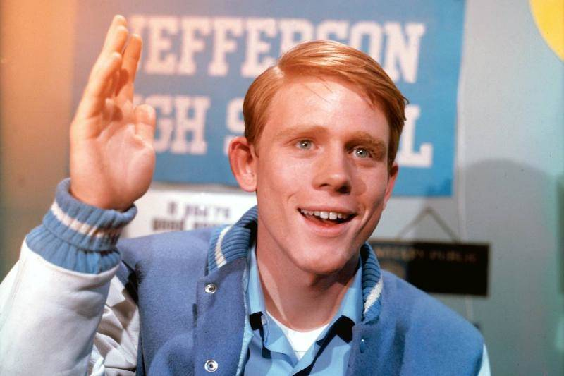 Ron Howard Then