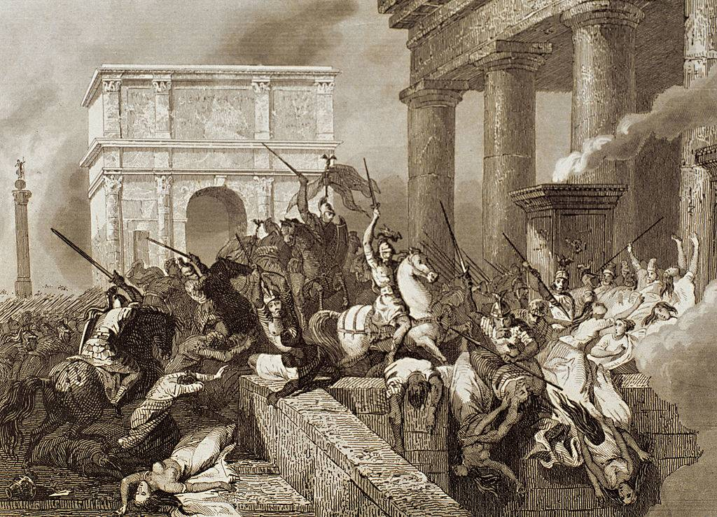 Picture of the sack of Rome