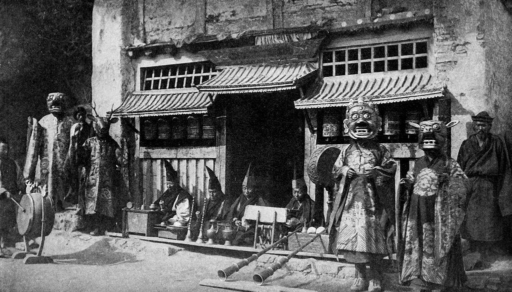 Picture of people from Sikkim
