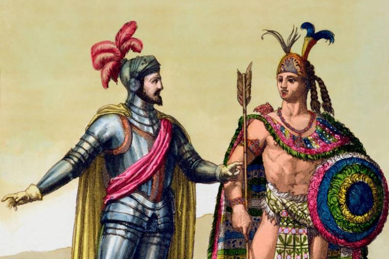 Painting of Spanish