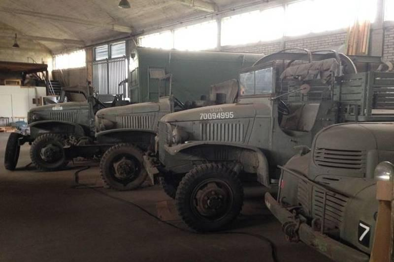 collection of military vehicles