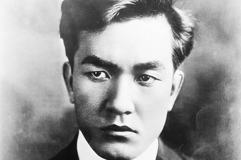 sessue hayakawa in black and white portrait