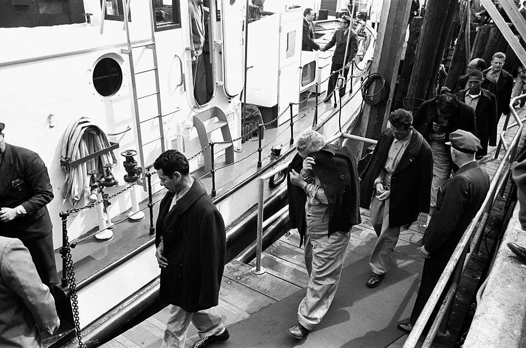 Picture of Alcatraz prisoners