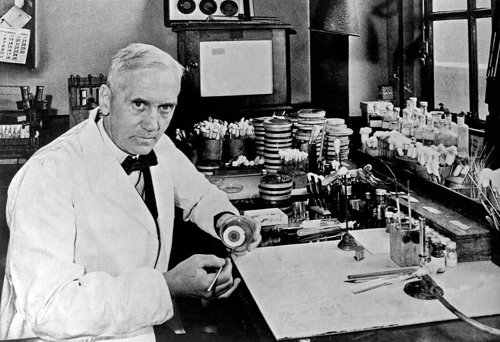 Picture of Alexander Fleming