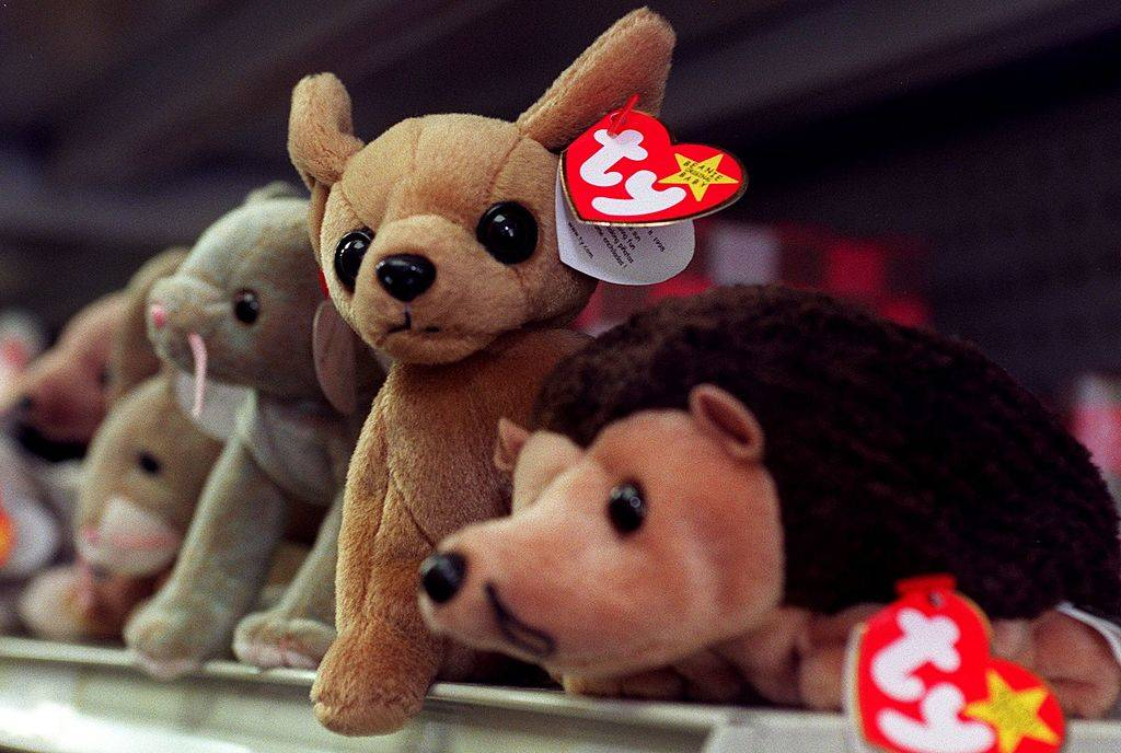 Picture of Beanie Babies
