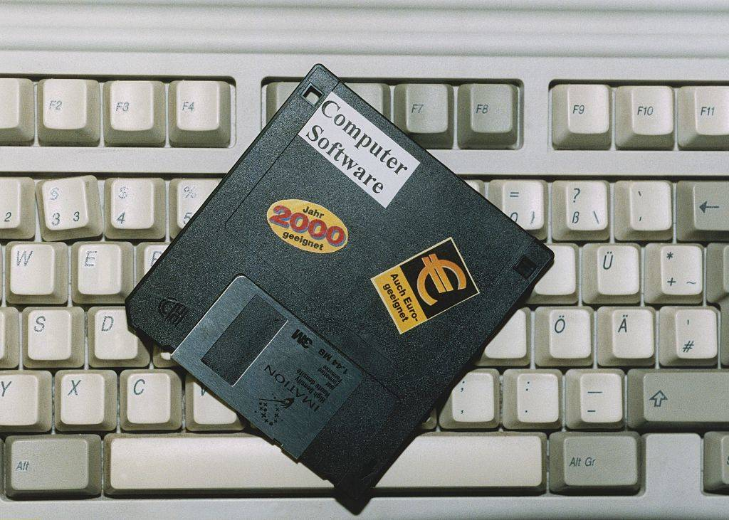 Picture of a floppy disc