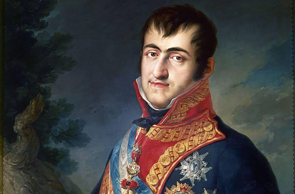 Portrait of King Ferdinand VII of Spain