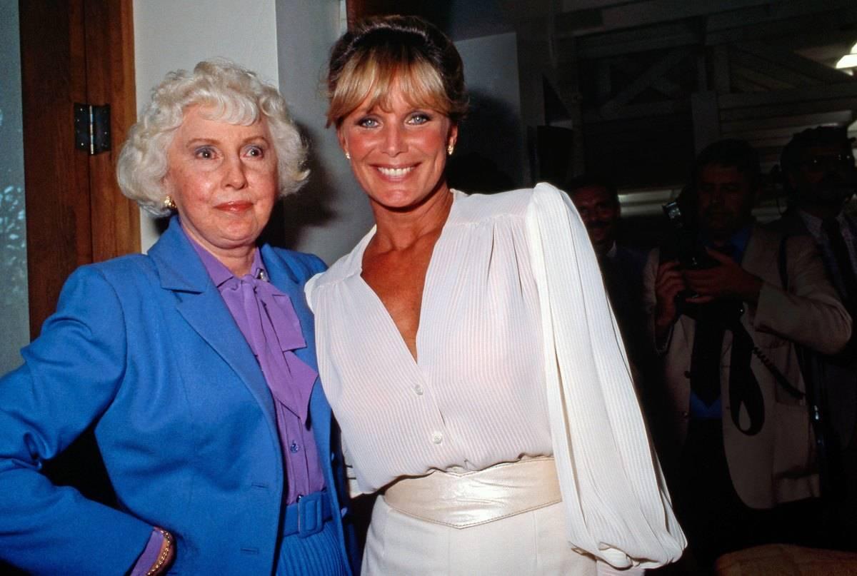 Linda Evans And Barbara Stanwyck