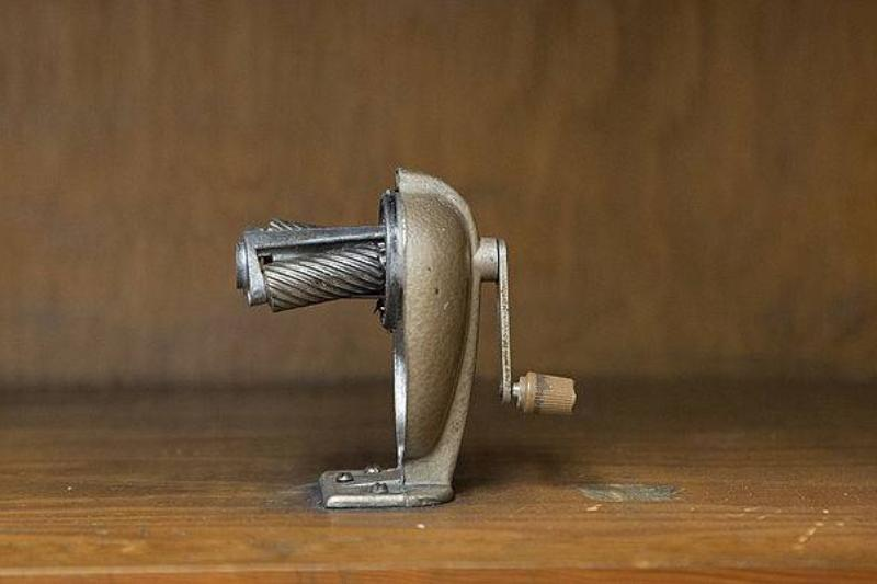Picture of a pencil sharpener