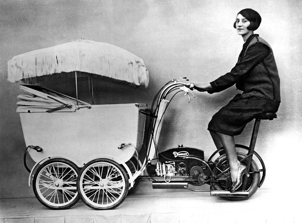 Picture of a pramobile
