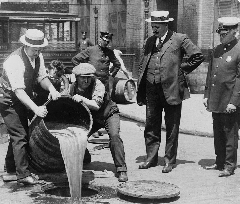 Picture of prohibition