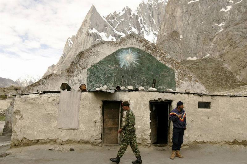 Picture of Siachen Glacier
