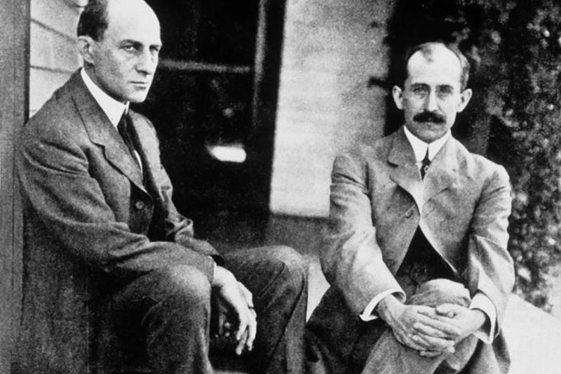 Picture of the Wright Brothers