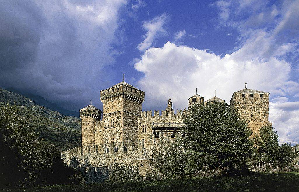 Picture of Fenis Castle
