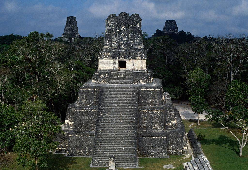 Picture of  Mayan Pyramids of Tikal