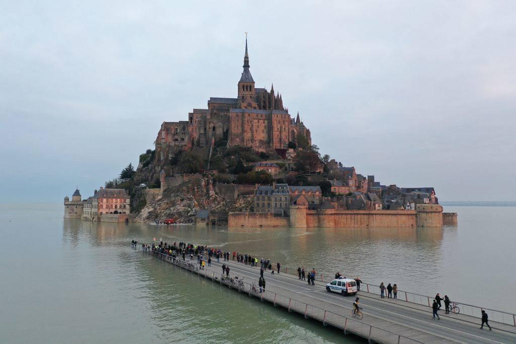 Picture of Mont-Saint-Michel, France