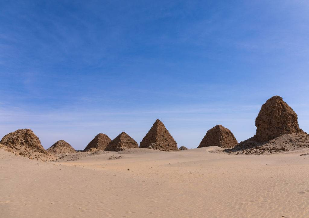 Picture of the Nubian Pyramids