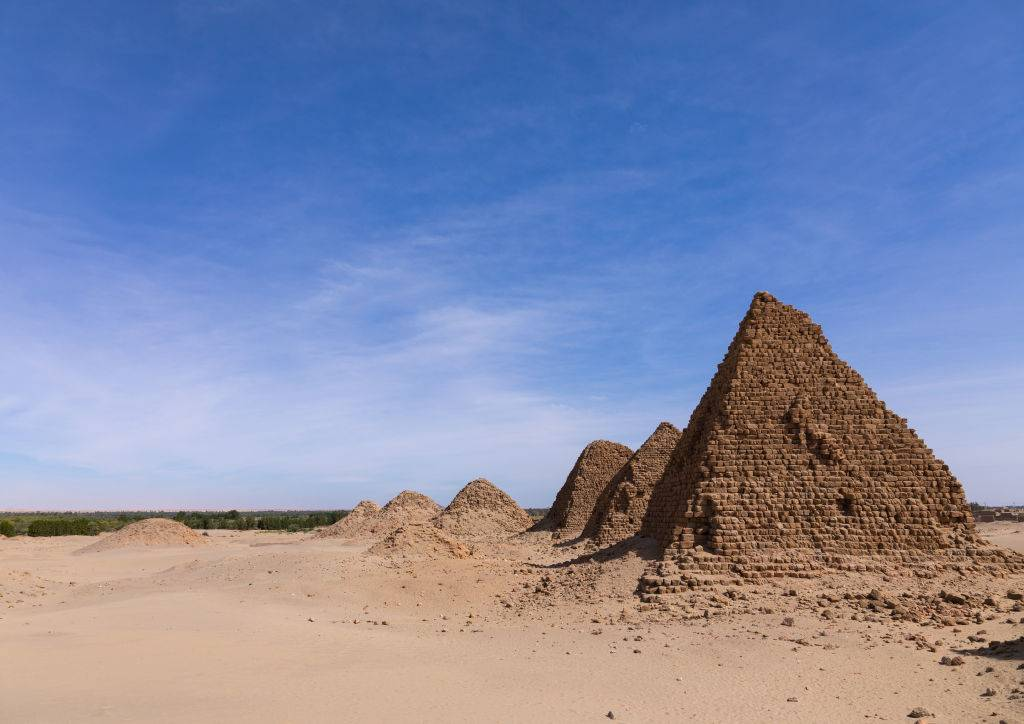 Picture of Nubian Pyramids