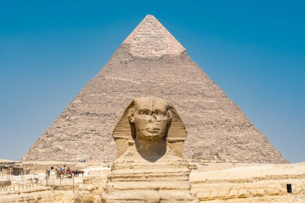 Picture of Pyramid Of Khafre