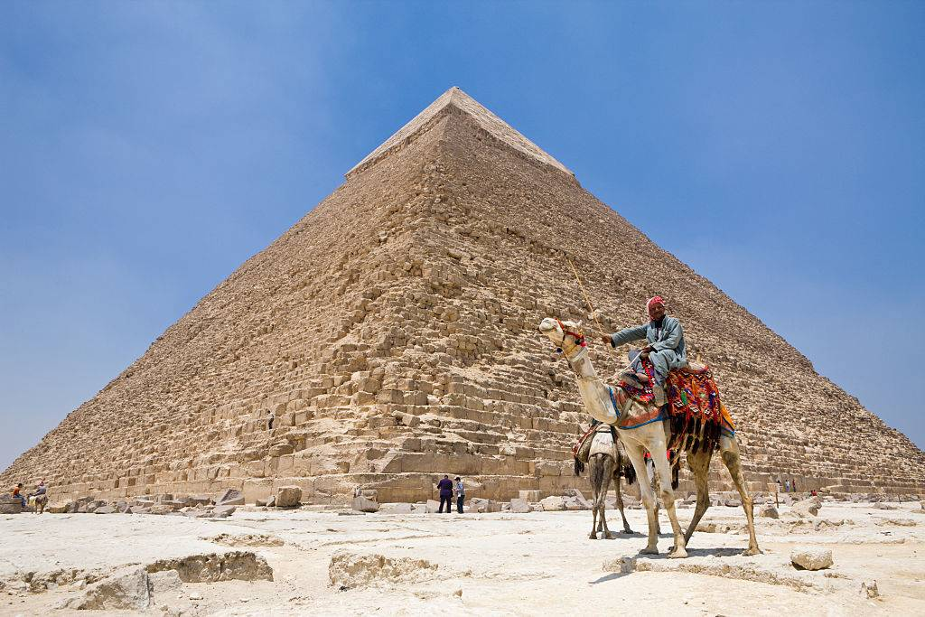 Picture of Giza Pyramid