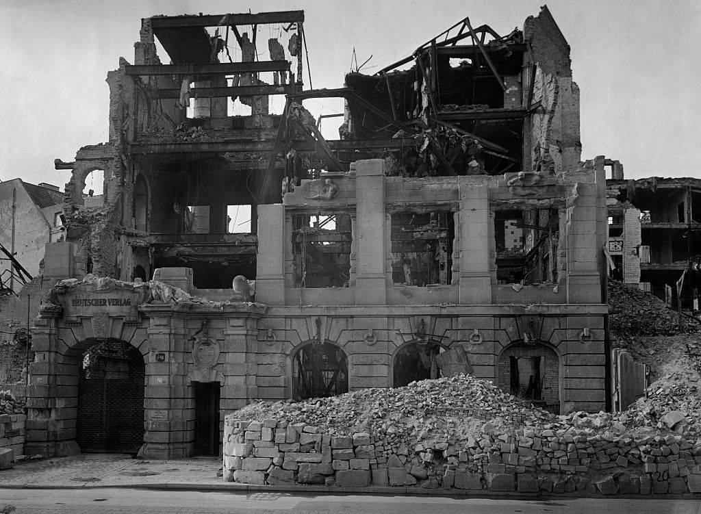 Picture of destruction
