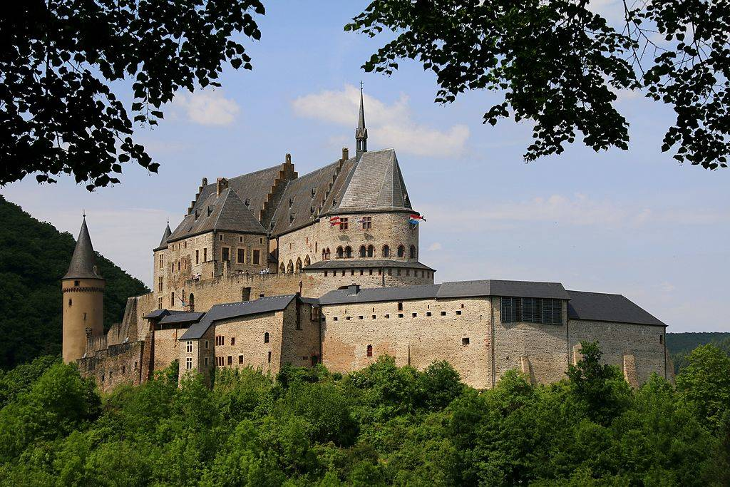 Picture of Vianden Castle, Luxembourg