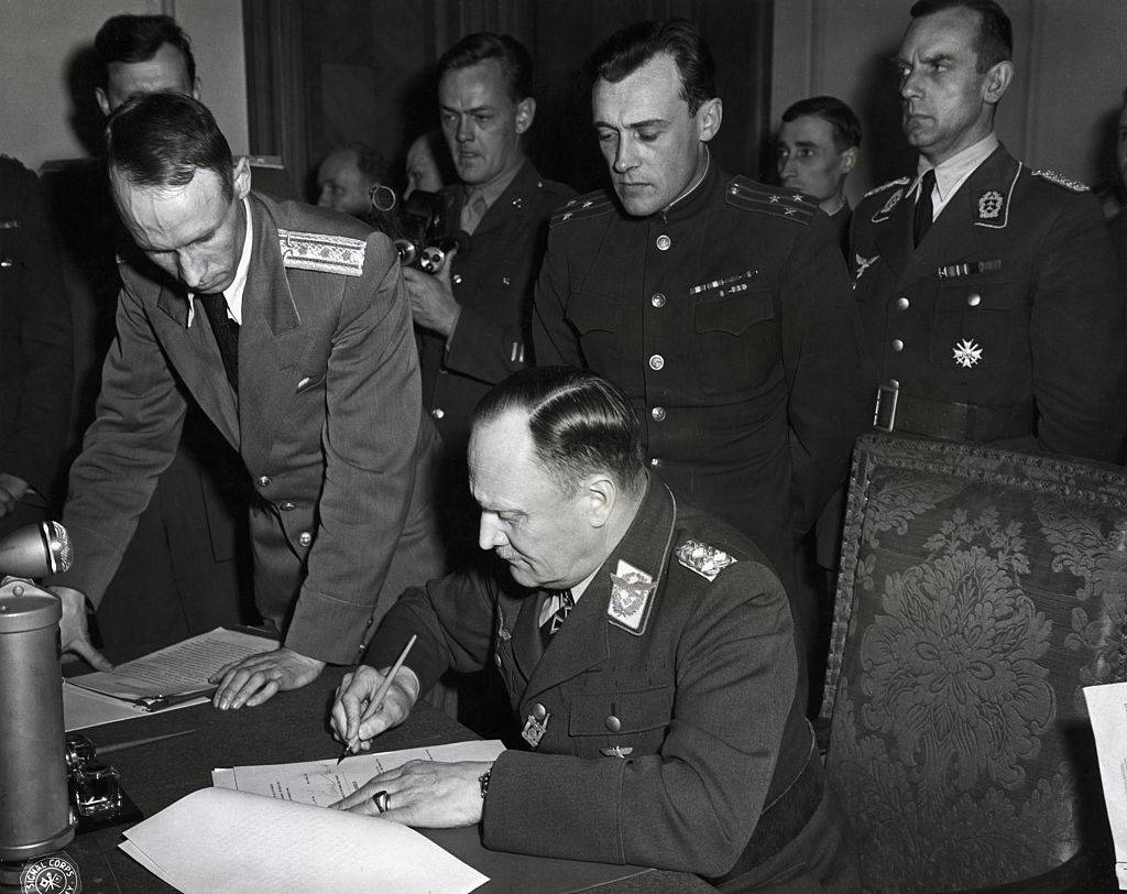 Picture of the surrender