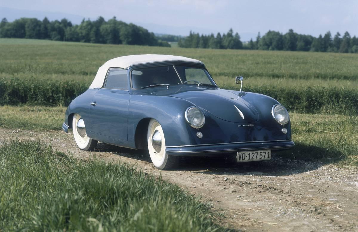 1951 Porsche 356.