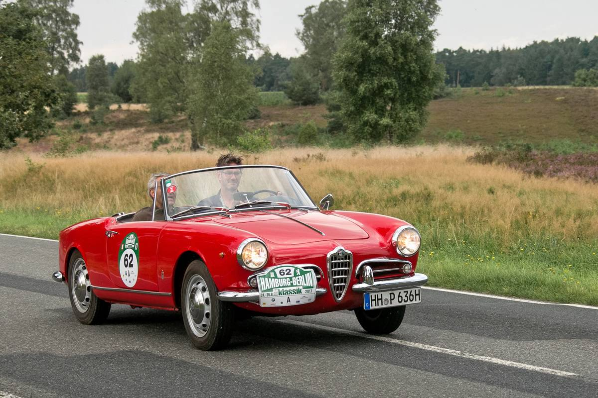 Alfa Romeo Giulietta Spyder Veloce
