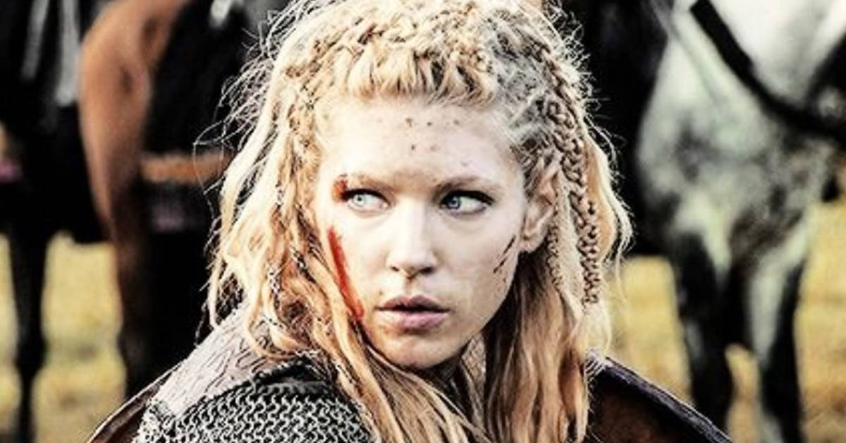 Picture of viking woman