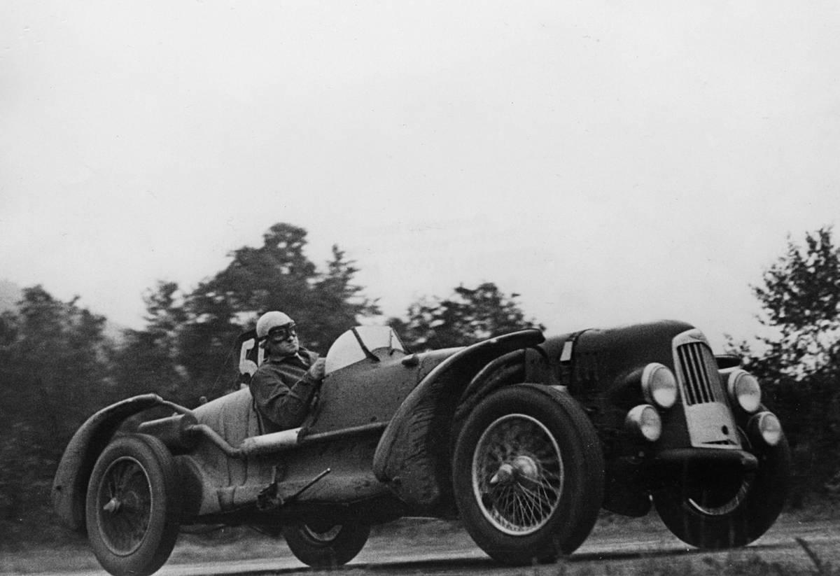 Aston Martin Db1 At Spa 1948