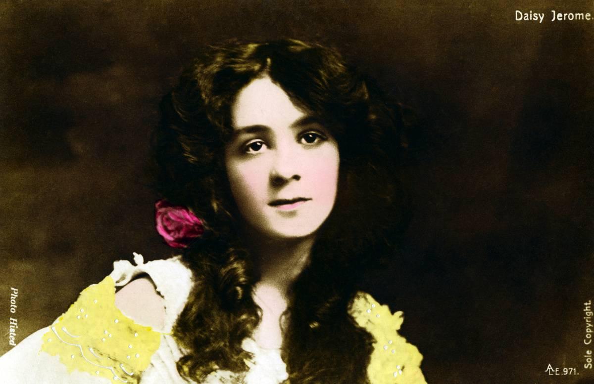 Daisy Jerome, actress, early 20th century.Artist: Photo Histed