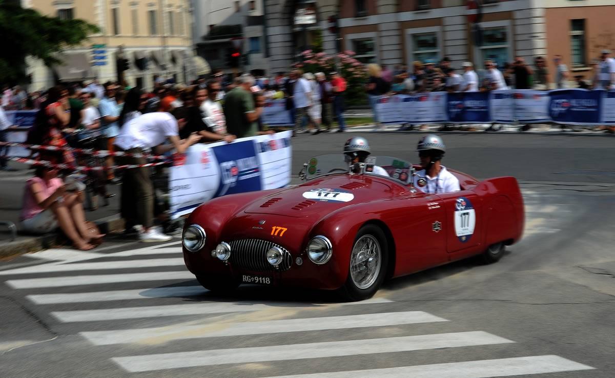 Mille Miglia 2017 - 1000 Miles Historic Road Race - Start